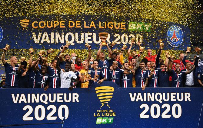 PSG wins the France League Cup
