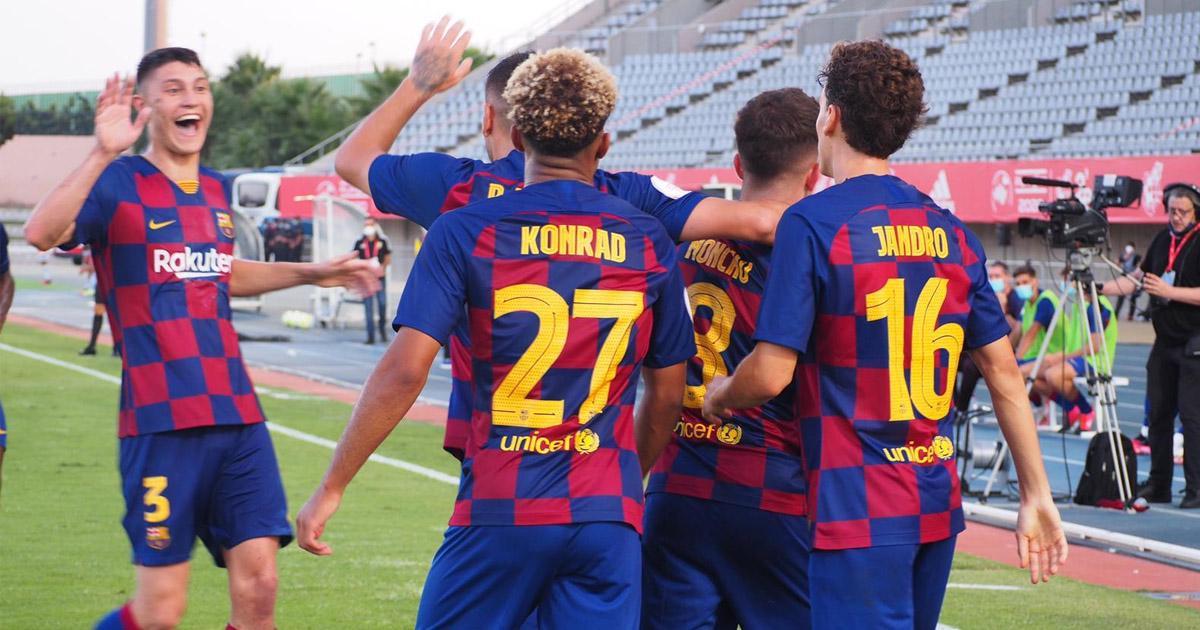 Barcelona B in Segunda B
