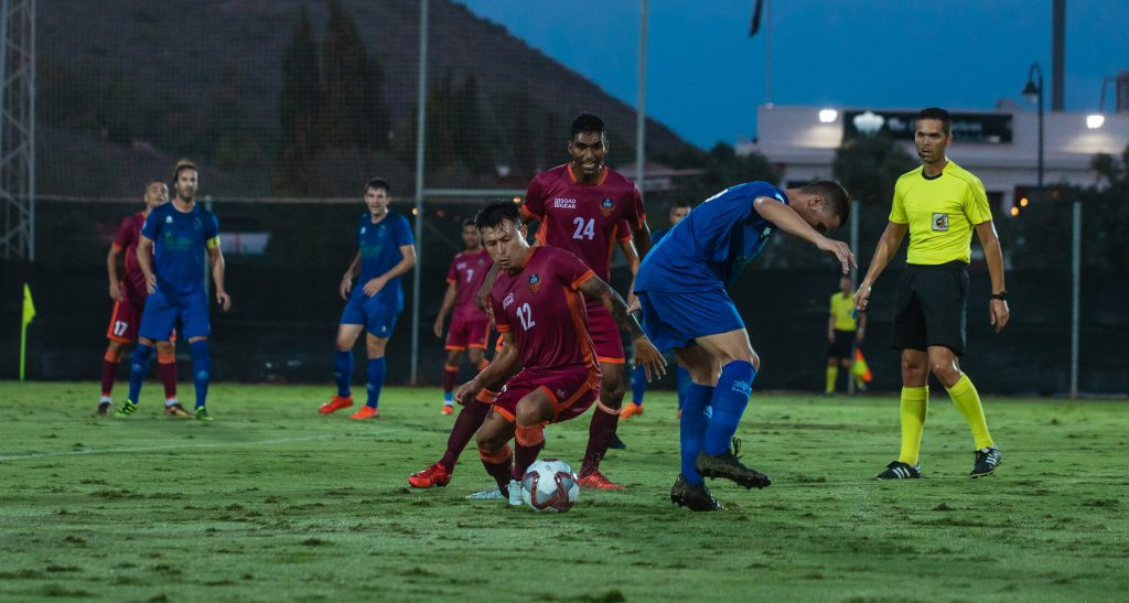 A Tercera Division match