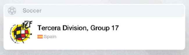 Spain Tercera Group 17