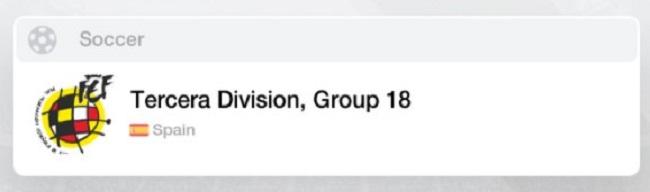 Spain Tercera Group 18