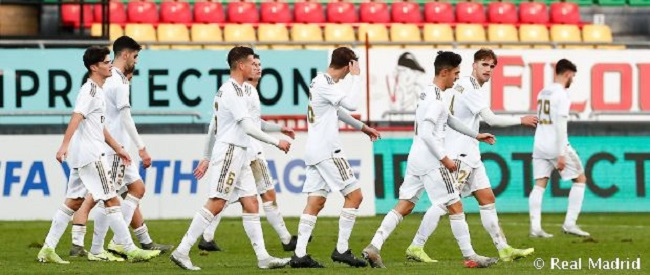 Real Madrid in Spain Youth League