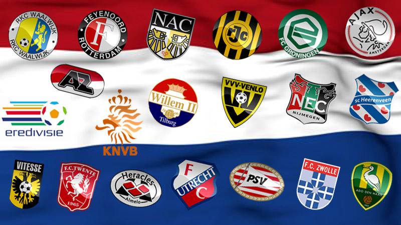 Netherland Eredivisie teams