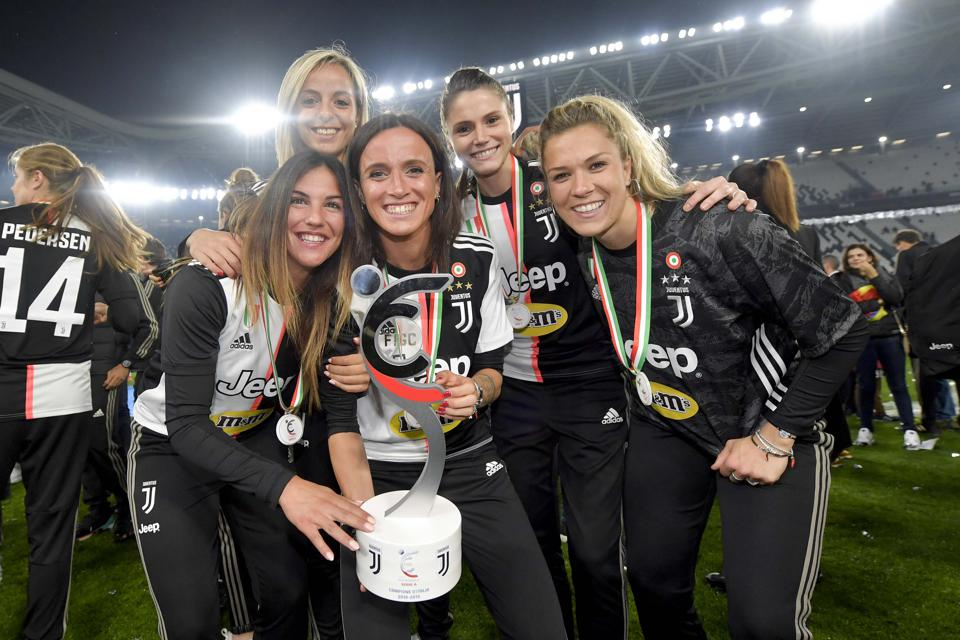 Serie A Women Winners
