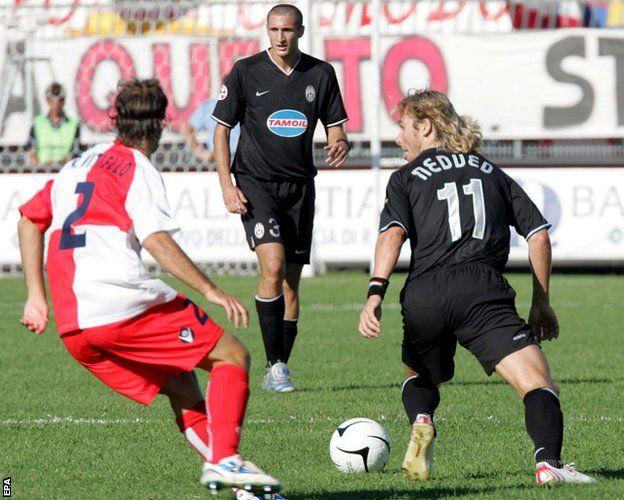 A match in Serie B
