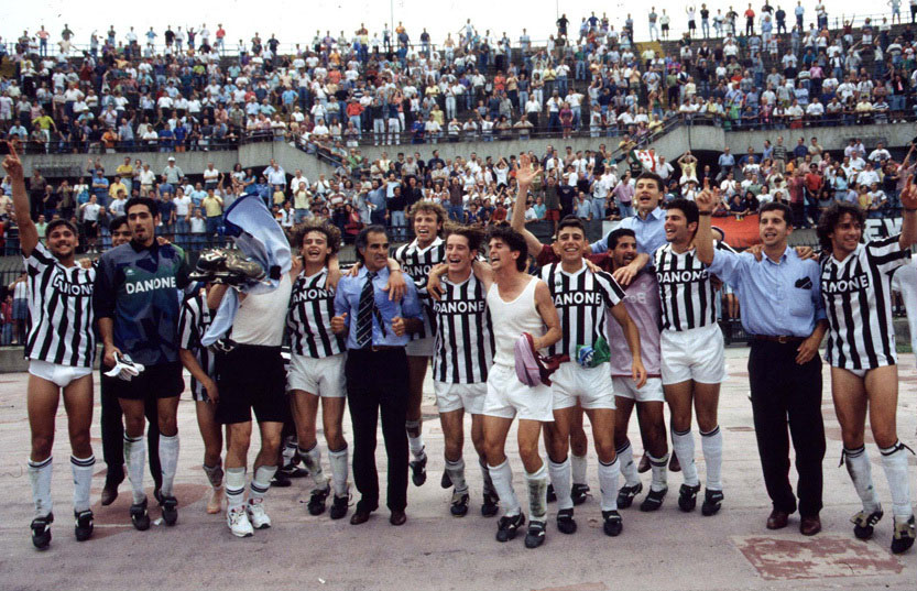 Juventus- Campionato Primavera in 1994