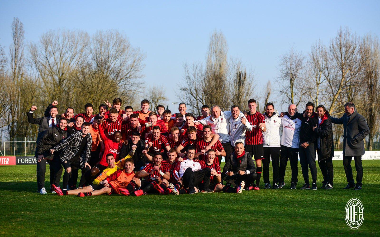 Milan win Primavera 2 in 2020