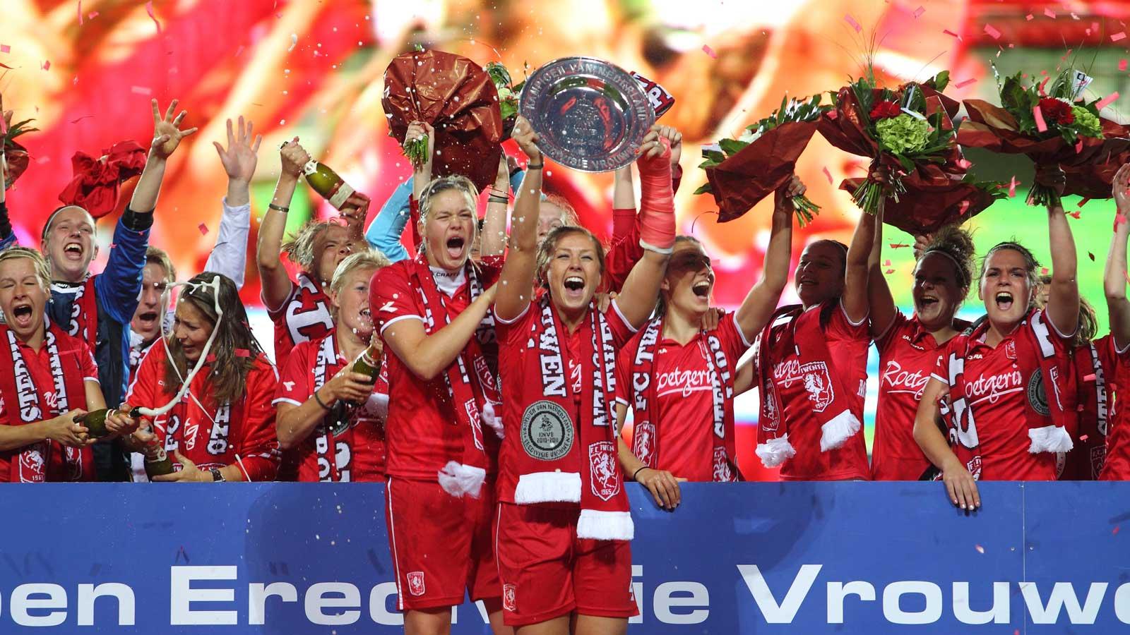 FC Twente win Eredivisie Vrouwen
