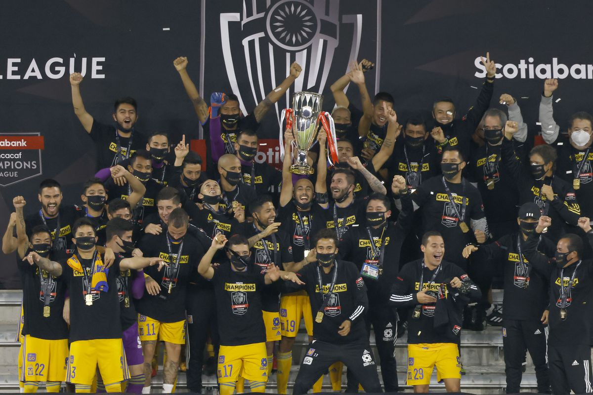Tigres UANL celebrated their first championship in 2020 CONCACAF Champions League