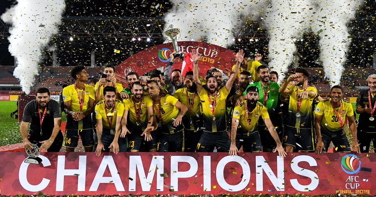 Al-Ahed win the AFC Cup 2019