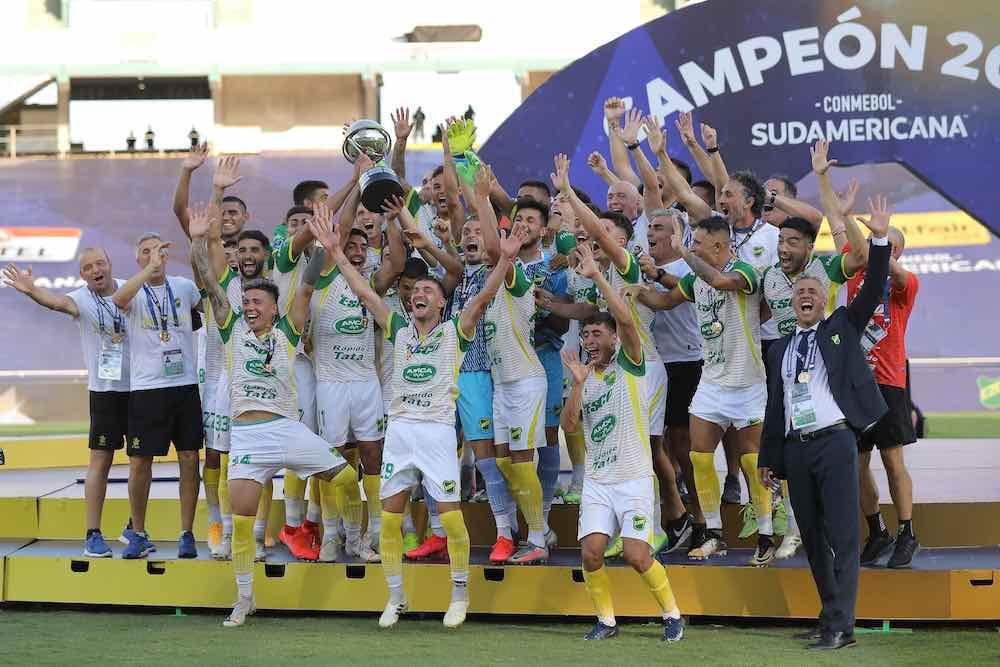 defnsa y justicia - copa sudamericana winners 2020