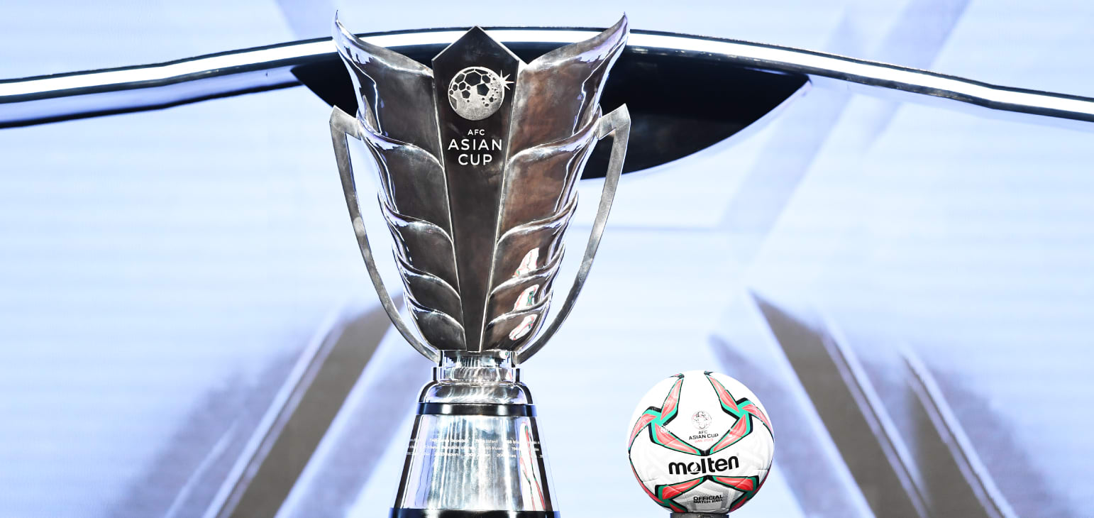 New AFC Asian Cup Trophy