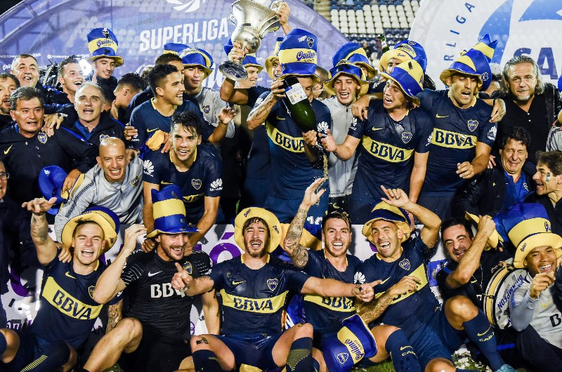 Boca Juniors - 2018 Superliga winners