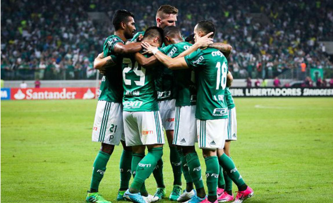 Palmeiras in the Brazilian Serie A