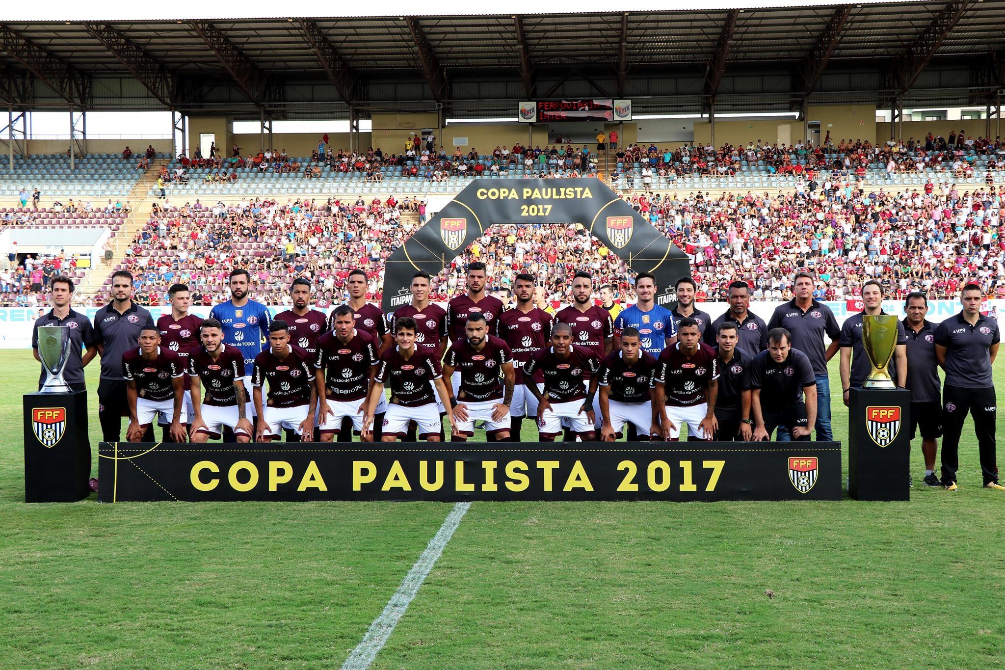 Ferroviária won the Copa Paulista 2017