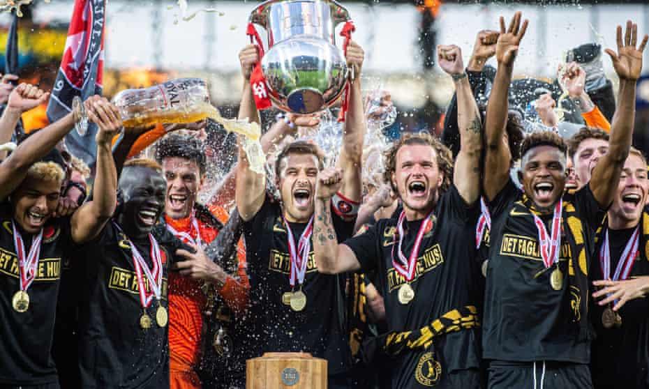 Midtjylland win the 2019-20 Superliga