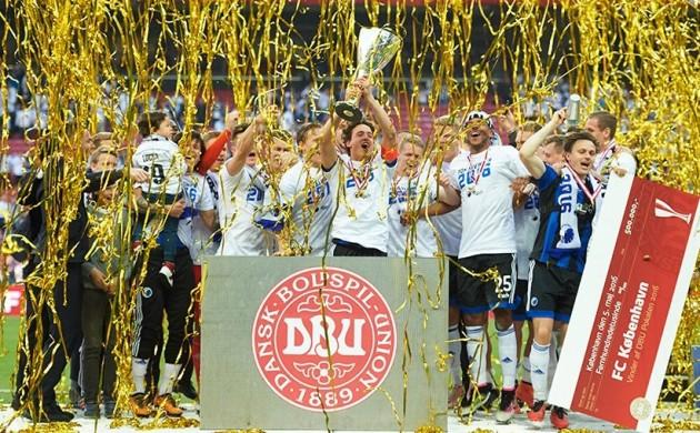 FC Copenhagen win the Danish Cup