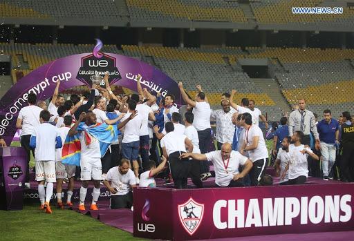 Zamalek won the 2018 Egypt Cup