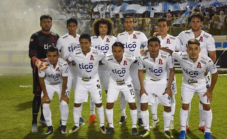 Alianza FC the winners of 2019 El Salvador Apertura