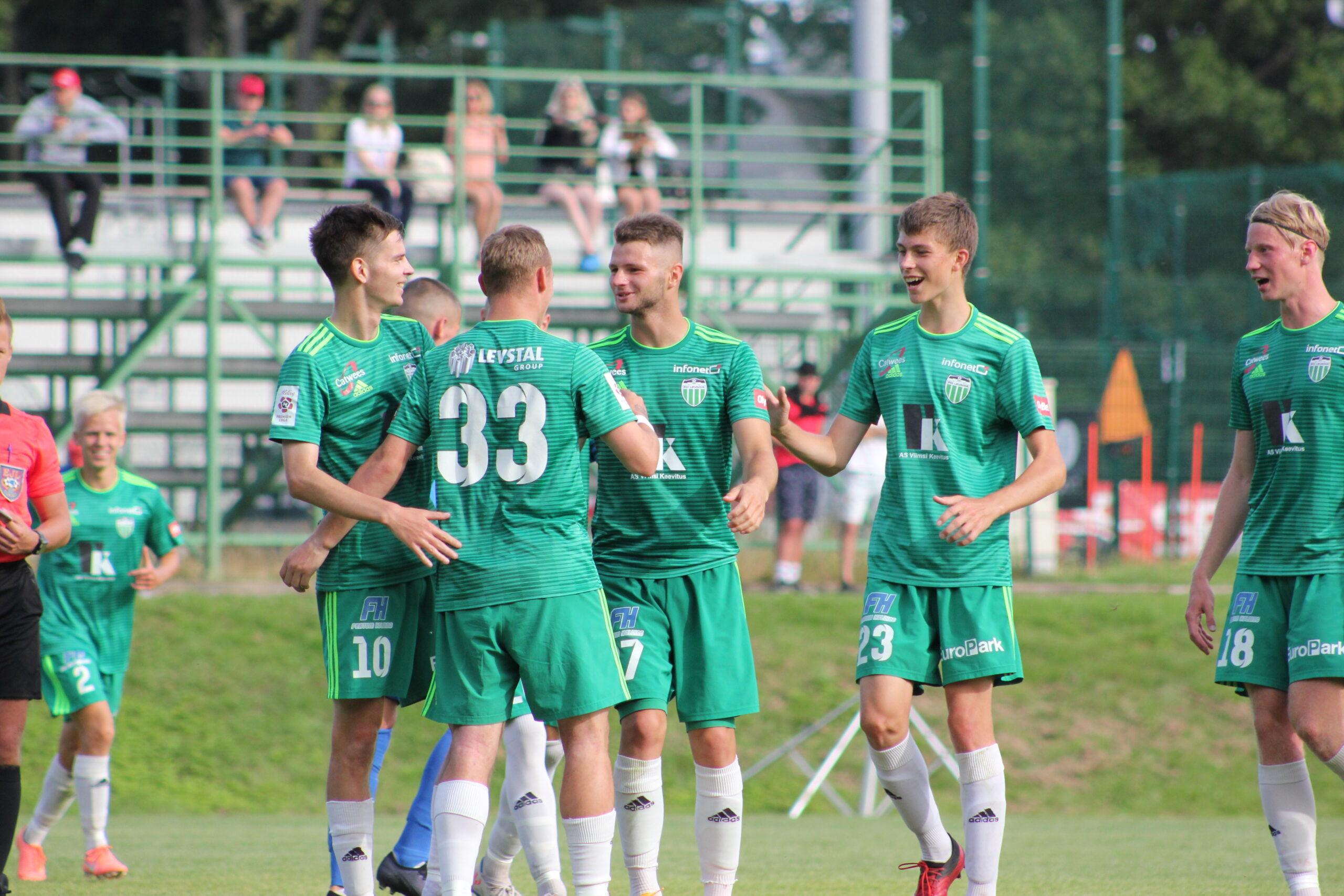 Esiliiga Levadia Tallinn reserve team