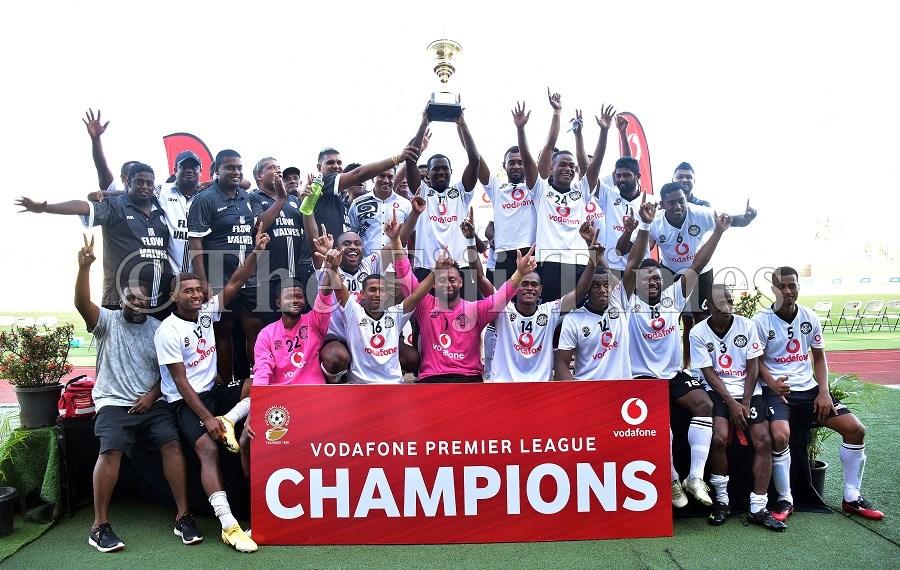 Suva win the Fiji Premier League