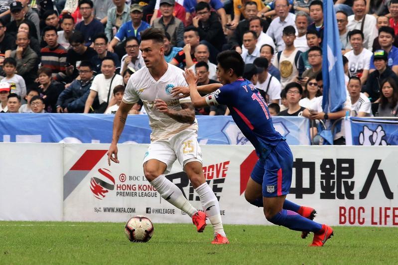 Kitchee defeat R&F 3-2 in HK Premier League